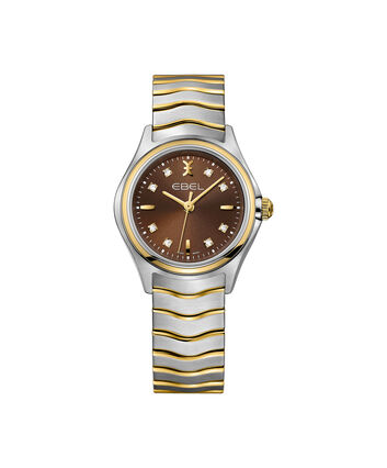 EBEL EBEL Wave1216318 – Women's 30.0 mm bracelet watch - Front view