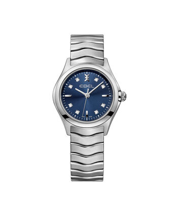 EBEL EBEL Wave1216315 – Montre bracelet de 30mm pour femmes - Front view