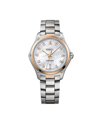 EBEL Discovery1216397 – Women's 33.0 mm bracelet watch - Front view