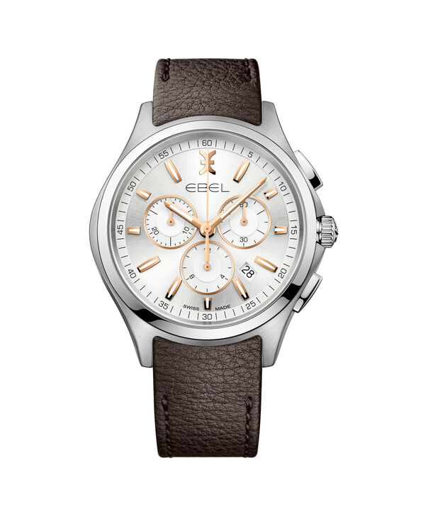 EBEL EBEL Wave1216341 – Men's 42.0 mm strap chronograph - Front view