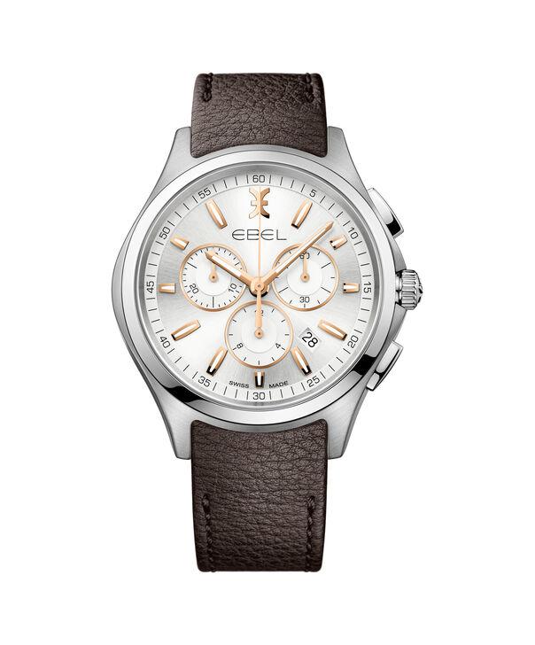 EBEL EBEL Wave1216341 – Chronographe bracelet de 42mm pour hommes - Front view