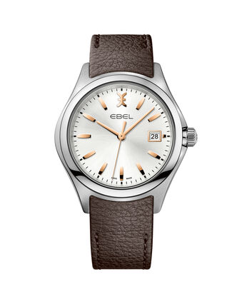 EBEL EBEL Wave1216330 – Montre bracelet automatique de 40mm pour hommes - Front view