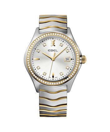 EBEL EBEL Wave1216337 – Montre bracelet de 40mm pour hommes - Front view