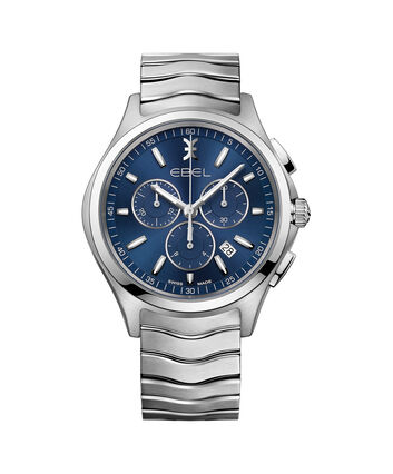 EBEL EBEL Wave1216344 – Men's 42.0 mm strap chronograph - Front view