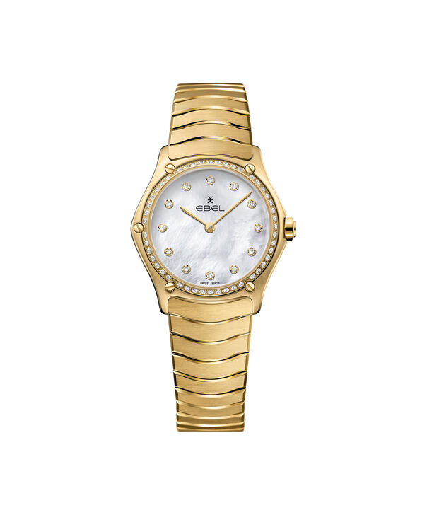 EBEL | Women's Watch EBEL Sport Classic, Yellow Gold Steel Watch
