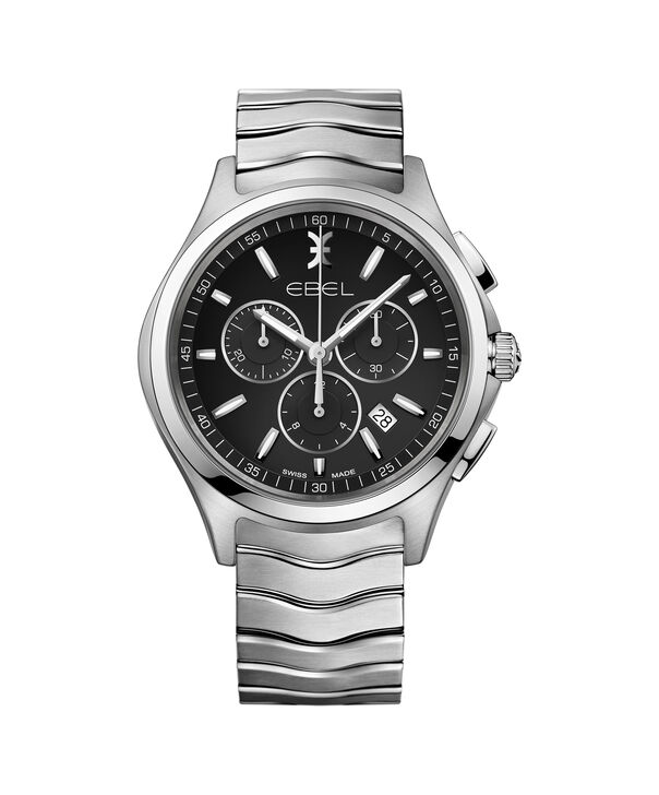 EBEL EBEL Wave1216342 – Men's 42.0 mm strap chronograph - Front view