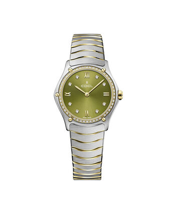 EBEL EBEL Sport Classic1216447A – Women's 29 mm bracelet watch - Front view