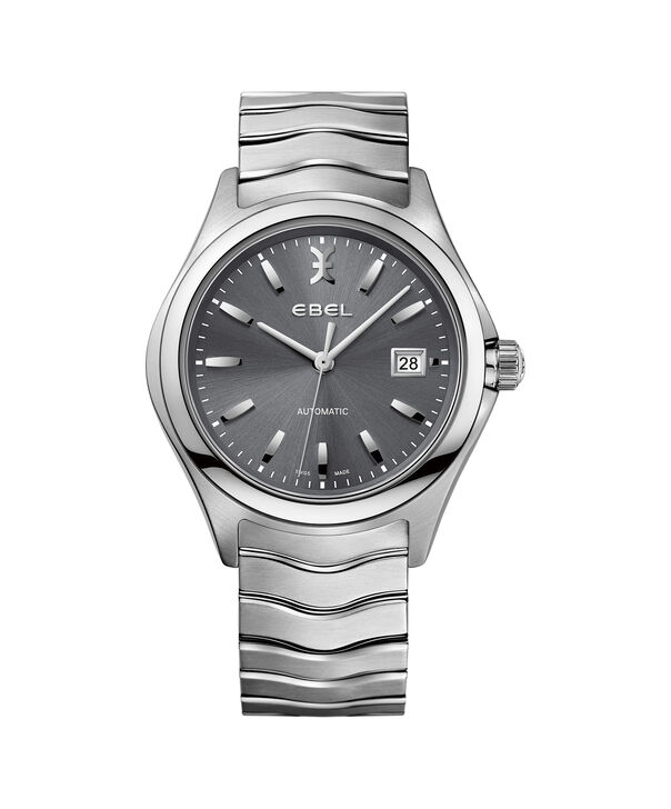 EBEL | Men's Watch EBEL Wave, automatic stainless steel case, grey dial