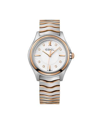 EBEL EBEL Wave1216306 – Montre bracelet de 35mm pour femmes - Front view