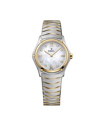 EBEL EBEL Sport Classic1216388 – Montre bracelet de 29mm pour femmes - Front view