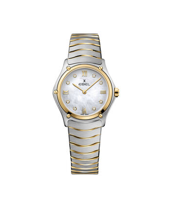 EBEL EBEL Sport Classic1216388 – Women's 29 mm bracelet watch - Front view