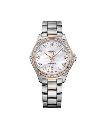 EBEL Discovery1216398 – Women's 33.0 mm bracelet watch - Front view