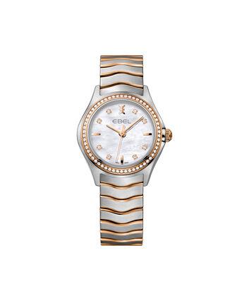 EBEL EBEL Wave1216325 – Montre bracelet de 30mm pour femmes - Front view