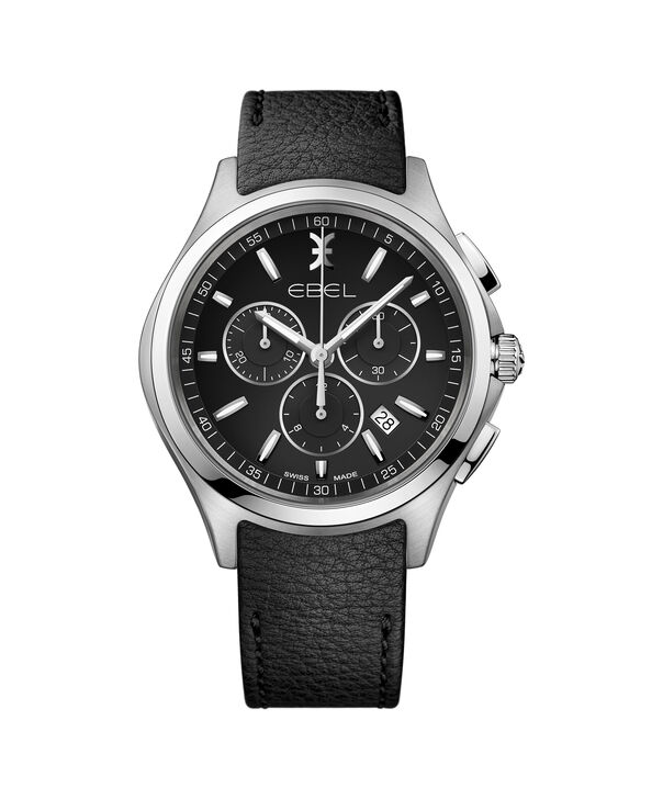 EBEL EBEL Wave1216343 – Men's 42.0 mm strap chronograph - Front view