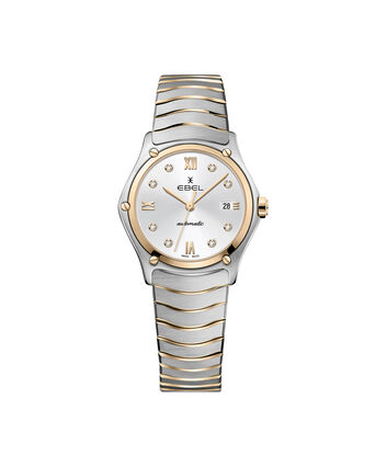 EBEL EBEL Sport Classic1216429A – Women's 29 mm bracelet watch - Front view