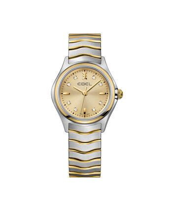 EBEL EBEL Wave1216317 – Montre bracelet de 30mm pour femmes - Front view