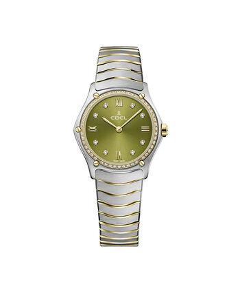 EBEL EBEL Sport Classic1216447A – Women's 29 mm bracelet watch - Front view