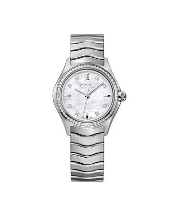 EBEL EBEL Wave1216194 – Montre bracelet de 30mm pour femmes - Front view