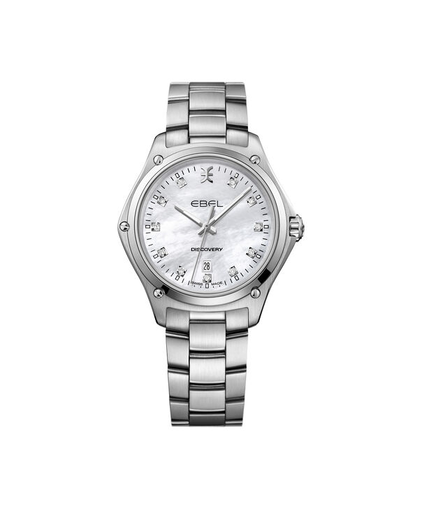 EBEL Discovery1216394 – Women's 33.0 mm bracelet watch - Front view