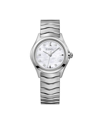 EBEL EBEL Wave1216193 – Women's 30.0 mm bracelet watch - Front view