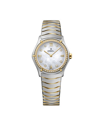 EBEL EBEL Sport Classic1216390A – Women's 29 mm bracelet watch - Front view