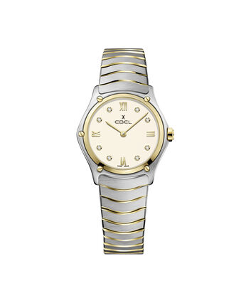 EBEL EBEL Sport Classic1216418A – Women's 29 mm bracelet watch - Front view