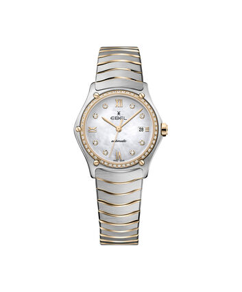 EBEL EBEL Sport Classic1216430A – Women's 29.0 mm bracelet watch - Front view