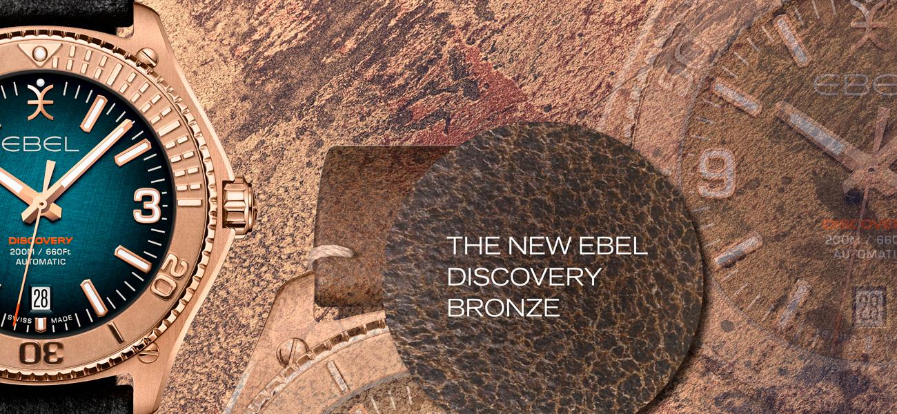 Ebel Discovery Bronze