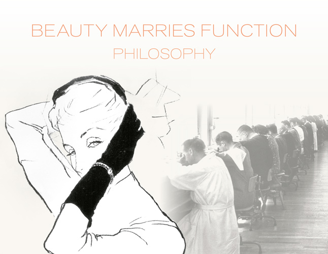 Beauty Marries Function Philosophy