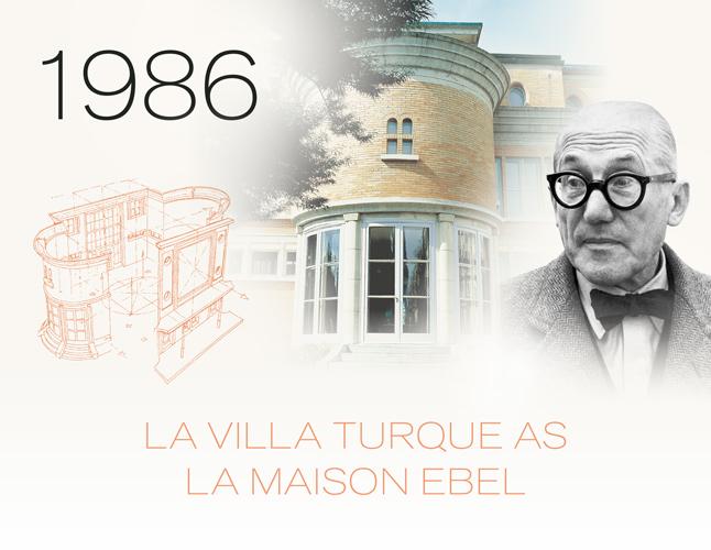 1986: La Valla Turque as La Maison Ebel