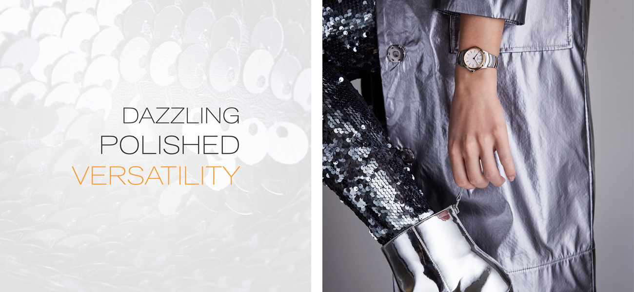 Dazzling polished versatility