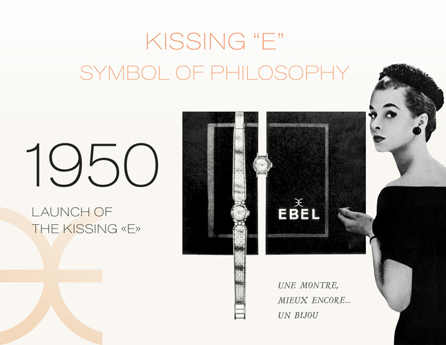 1950: Launch of the Kissing E